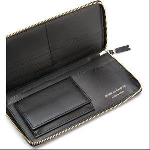 COMME DES GARÇONS—Black Wallet